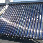 Монтаж системы отопления с солнечными коллекторами
